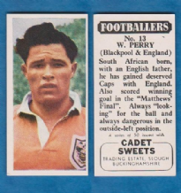 Blackpool Bill Perry England 13